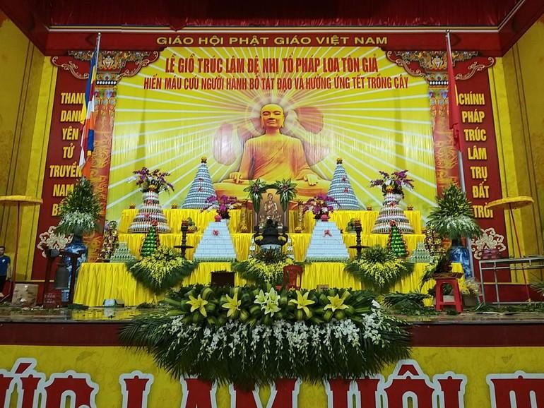 Quảng Ninh: Lễ giỗ Trúc Lâm Đệ Nhị Tổ Pháp Loa