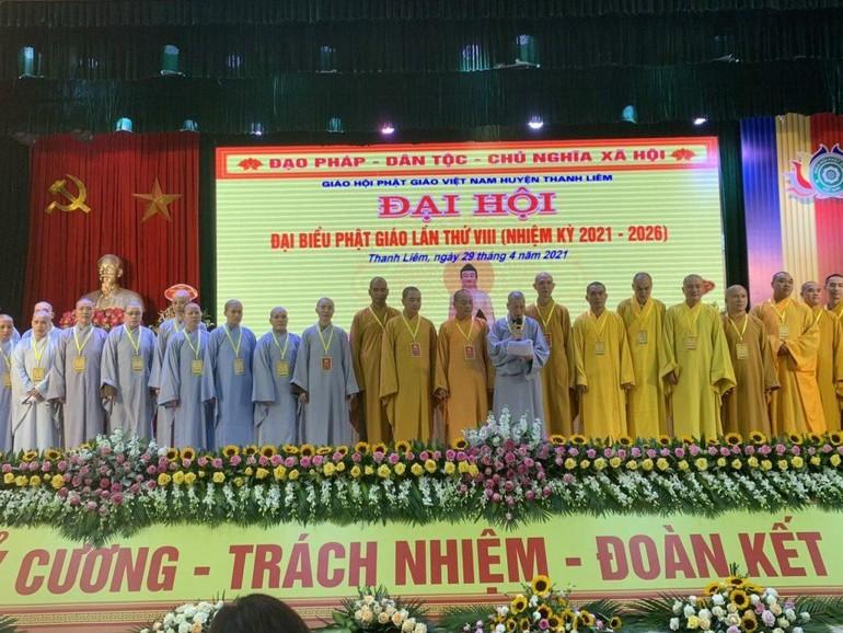 Tân Ban Trị sự GHPGVN huyện Thanh Liêm ra mắt đại hội