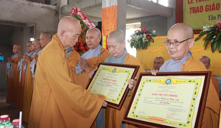 Phật giáo quận Tân Phú đoàn kết, hòa hợp, hoàn thành nhiều công tác Phật sự