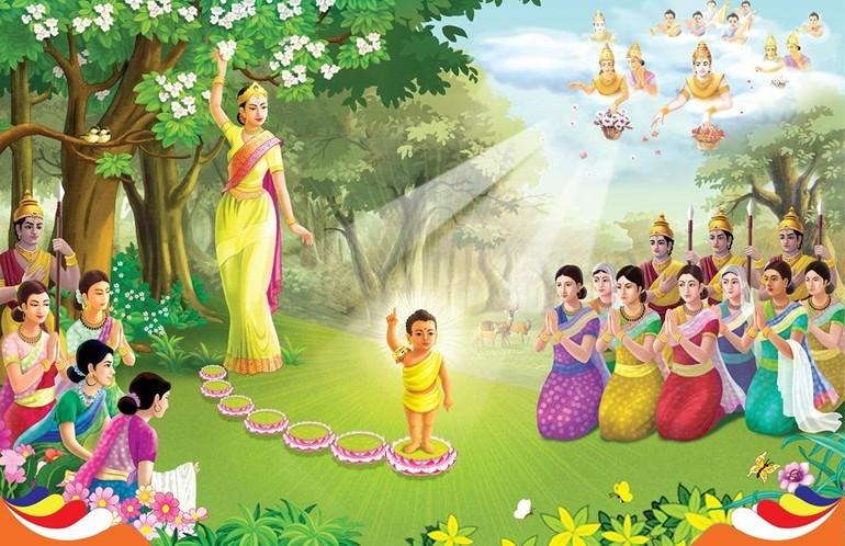 Cảm niệm ngày Phật đản sanh - Ảnh minh họa