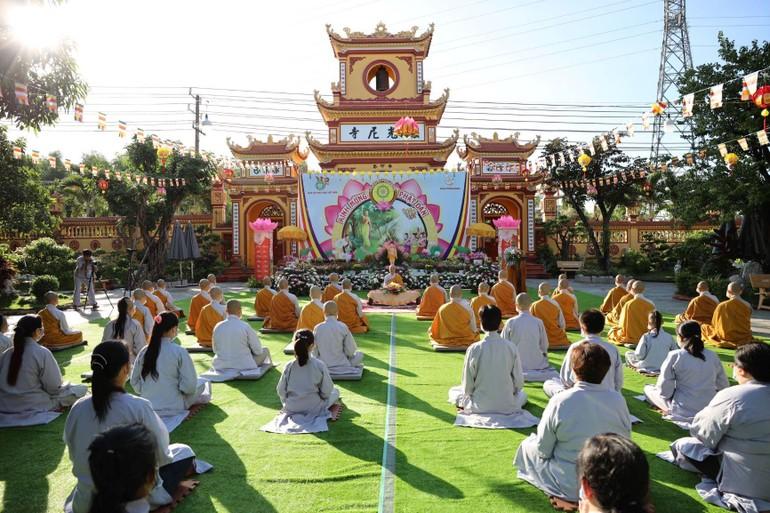 Đại lễ Phật đản Phật lịch 2565 tại chùa Thiên Quang