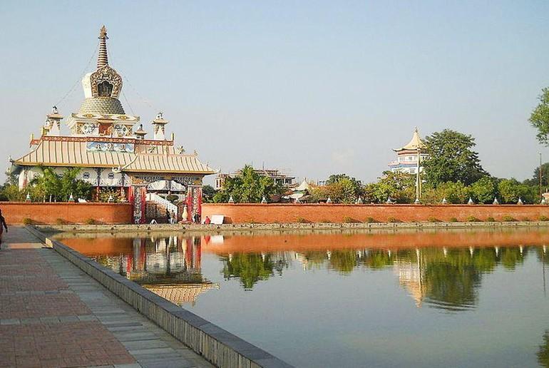 Vườn Lâm-tỳ-ni (Lumbini - The sacred garden) ở Ấn Độ