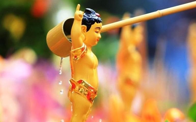 Tắm Phật - Một nghi thức đặc biệt trong Đại lễ mừng Phật đản sinh