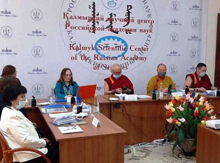 Hình ảnh buổi Hội thảo khoa học quốc tế được tổ chức tại nước Cộng hòa Kalmykia