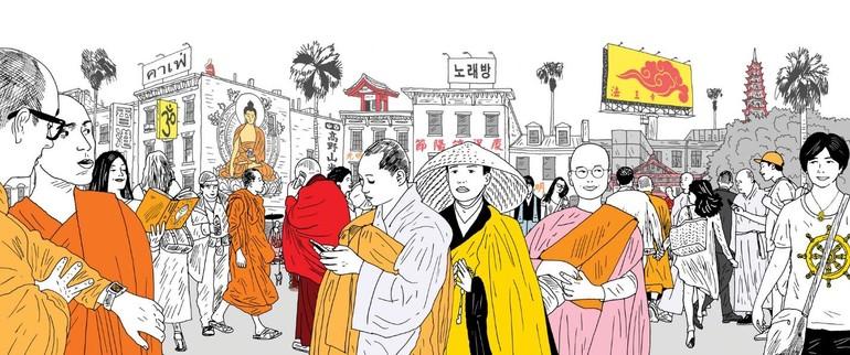 Ảnh minh họa của Tricycle Buddhist magazine