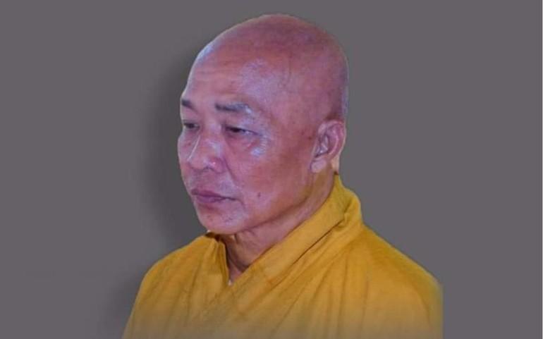 Chân dung Hòa thượng Thích Thiện Quang, cố vấn Ban Trị sự GHPGVN tỉnh Hậu Giang