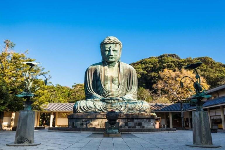 Đại Phật Kamakura tại đền Kotokuin (Nhật Bản)