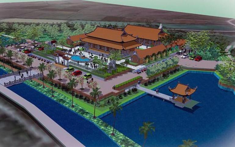 Quy hoạch tổng thể xây dựng chùa Hưng Khánh, huyện Hưng Nguyên