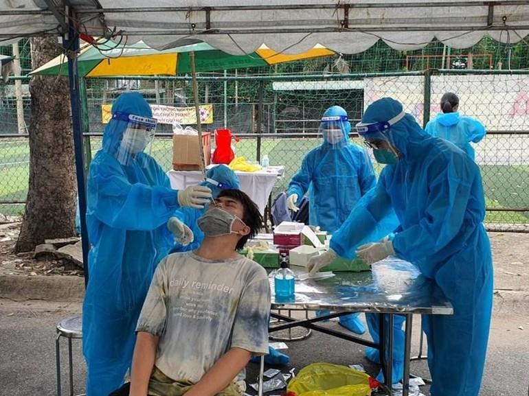 Ngày 7-7: TP.HCM ghi nhận 766 ca nhiễm Covid-19, có 186 trường hợp đang điều tra dịch tễ