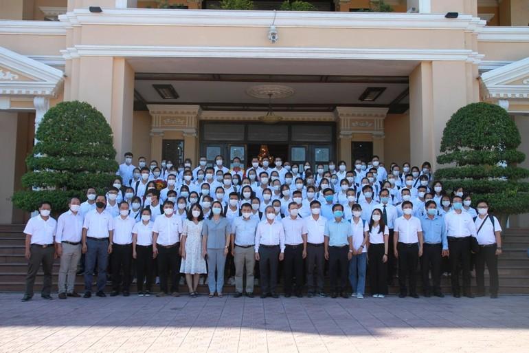 Đoàn công tác tỉnh Thừa Thiên Huế chi viện TP.HCM