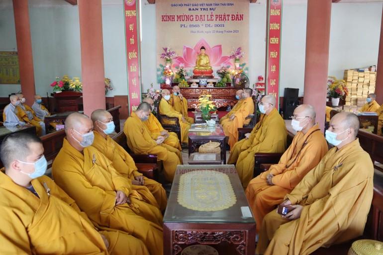 Lễ tác pháp hậu an cư Phật lịch 2565 tại chùa Thánh Long, ngày 25-6