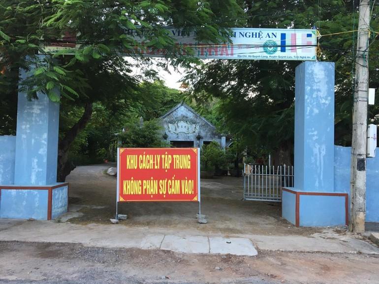Khu cách ly tập trung chùa An Thái được bố trí bước đầu với quy mô khoảng 80 giường bệnh