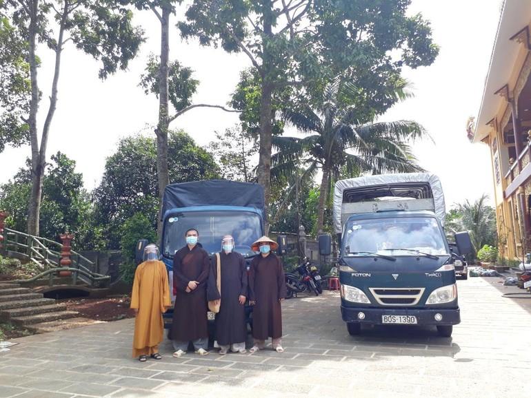 Chuyến từ thiện thứ 12 của Ban Trị sự Phật giáo huyện Xuân Lộc