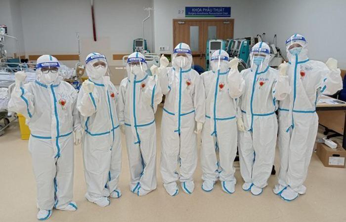 Các tình nguyện viên Phật giáo tại Bệnh viện Ung Bướu - Cơ sở 2