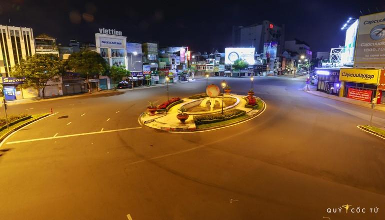 Vòng xoay Cộng Hòa - Ảnh: Ngô Trần Hải An