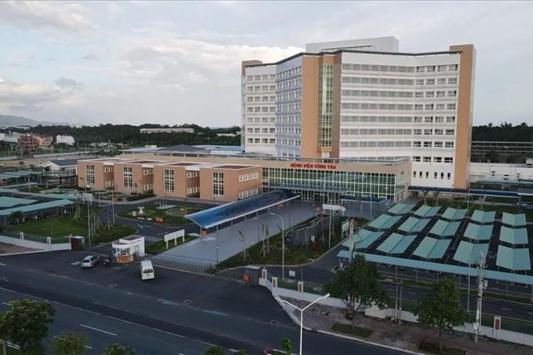 Bệnh viện Vũng Tàu được sử dụng làm Bệnh viện Dã chiến thu dung và điều trị Covid-19