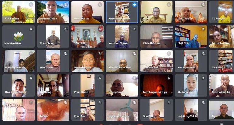 Hội nghị trực tuyến Ban Trị sự Phật giáo tỉnh Nghệ An mở rộng