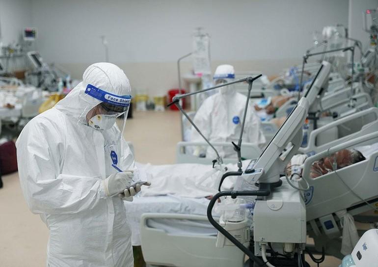Bệnh viện Hồi sức Covid-19 TP.HCM, nơi điều trị bệnh nhân nặng, nguy kịch - Ảnh: Ngọc Dương