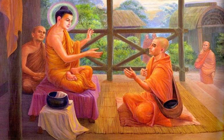 Hạnh cần thị giả của Đức Phật và hạnh làm thị giả của A-nan - Ảnh minh họa
