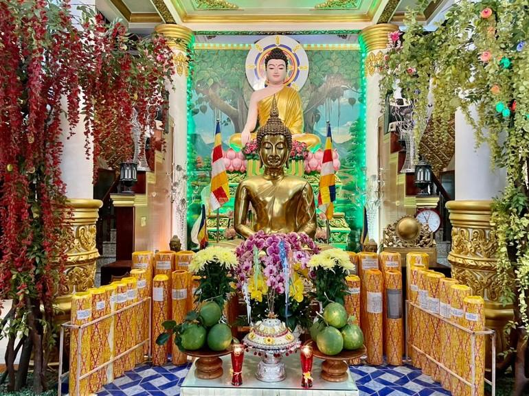 Chùa Pitu Khôsa RăngSay tổ chức lễ Kanh Ben sáng 22-9