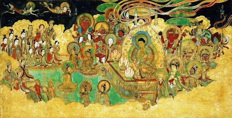 Pháp hội Phổ Môn - Tranh cổ Trung Hoa
