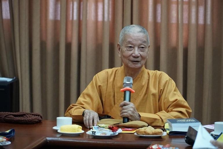 Trưởng lão Hòa thượng Thích Trí Quảng, Viện trưởng Học viện Phật giáo VN tại TP.HCM