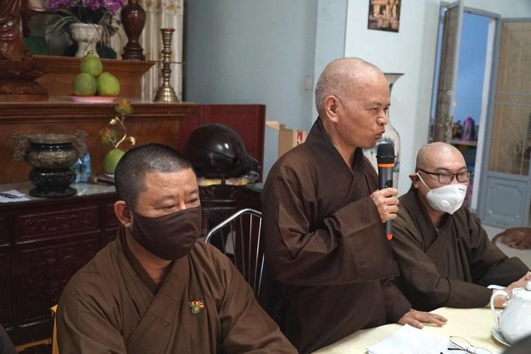Hòa thượng Thích Thiện Minh ban đạo từ tán dương tinh thần đoàn kết và hòa hợp của Tăng, Ni