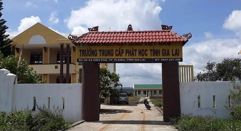 Gia Lai: Trường Trung cấp Phật học tỉnh chiêu sinh khoá IV (2021-2024)