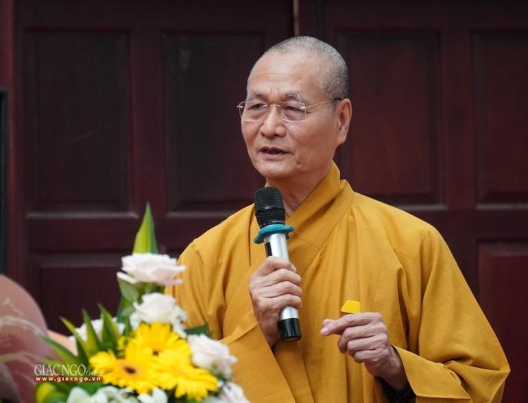 Hòa thượng Thích Hải Ấn, Viện trưởng Học viện Phật giáo VN tại Huế
