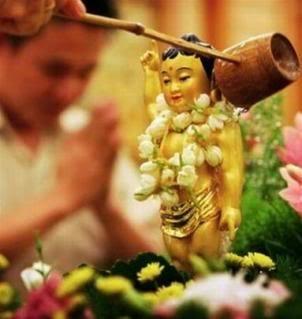 Ý nghĩa của nghi lễ tắm Phật