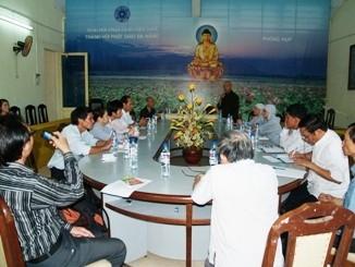 Ban Văn hóa Thành hội Phật giáo TP. Đà Nẵng họp bàn triển lãm