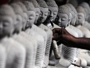 Hình tượng Đức Phật rất thiêng liêng đối với người Sri Lanka