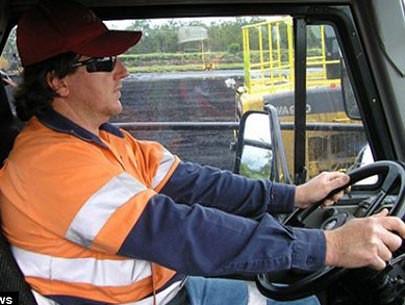 Tài xế xe tải là một trong những nghề được liệt kê trong nghiên cứu - Ảnh minh họa