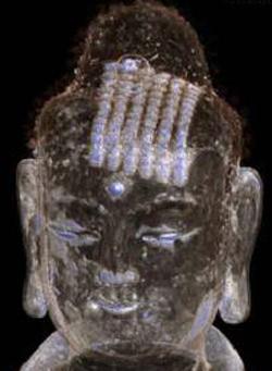 Bức tượng Phật có nội dung bản kinh cổ