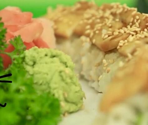 Món chay: Sushi nướng mè