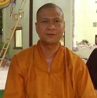 Sư thầy Thích Minh Quang (ảnh Văn Dũng)