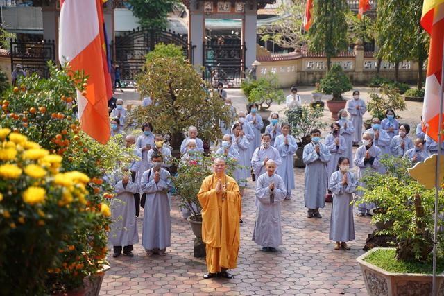 Ban Trị sự GHPGVN tỉnh Thừa Thiên Huế tổ chức lễ cầu an tại chùa Từ Đàm ảnh 3