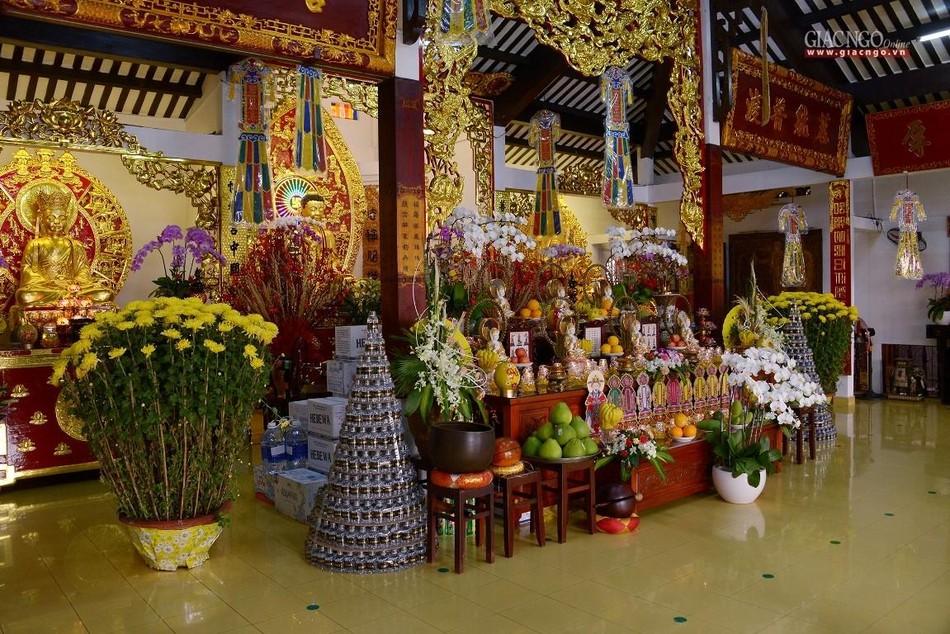 Cảnh chùa Sài Gòn - TP.HCM lung linh trong nắng xuân ảnh 7