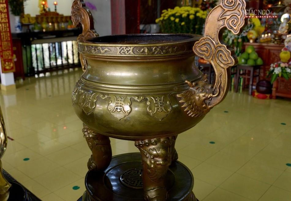 Cảnh chùa Sài Gòn - TP.HCM lung linh trong nắng xuân ảnh 6