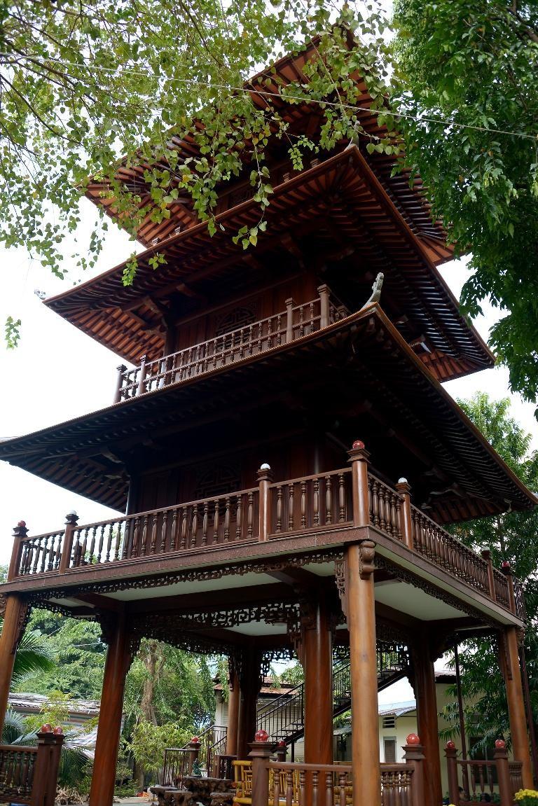 Cảnh chùa Sài Gòn - TP.HCM lung linh trong nắng xuân ảnh 14