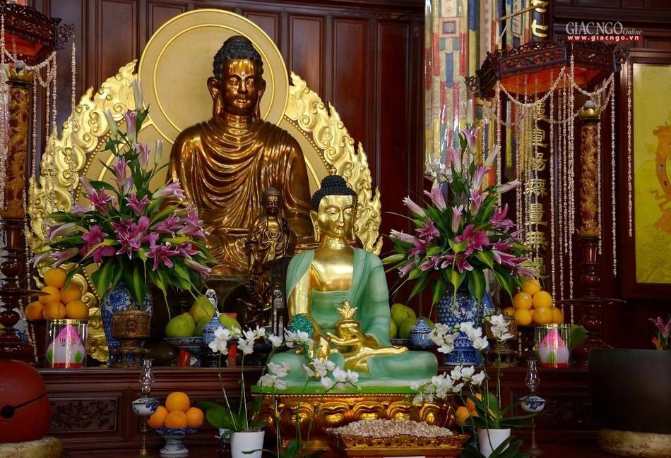 Cảnh chùa Sài Gòn - TP.HCM lung linh trong nắng xuân ảnh 10