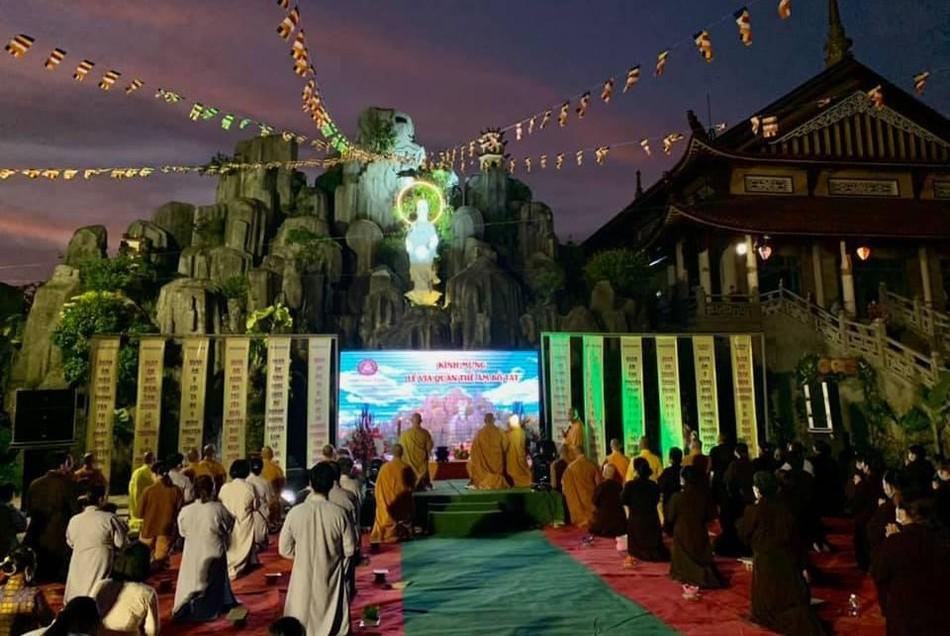 Lễ khánh đản Đức Quan Âm và rót đồng tôn tạo tượng Phật Bổn Sư tại chùa Bửu Thọ ảnh 1