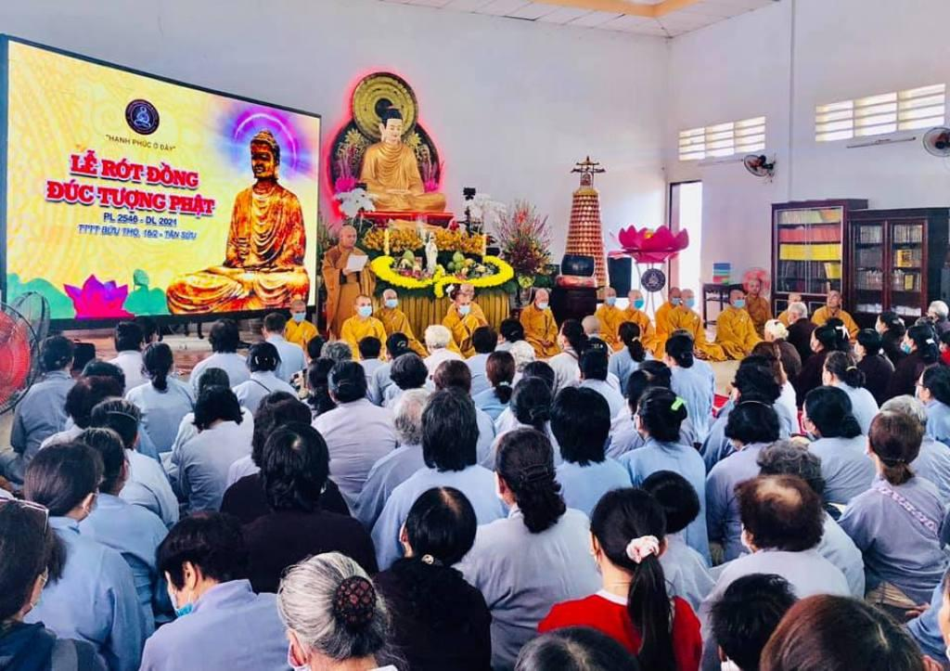 Lễ khánh đản Đức Quan Âm và rót đồng tôn tạo tượng Phật Bổn Sư tại chùa Bửu Thọ ảnh 6