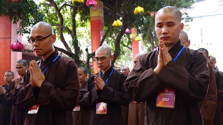 Hà Nội: Trang nghiêm khai mạc Đại giới đàn Phật lịch 2565 ảnh 11