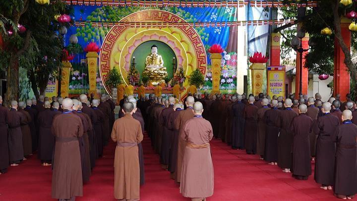 Hà Nội: Trang nghiêm khai mạc Đại giới đàn Phật lịch 2565 ảnh 12