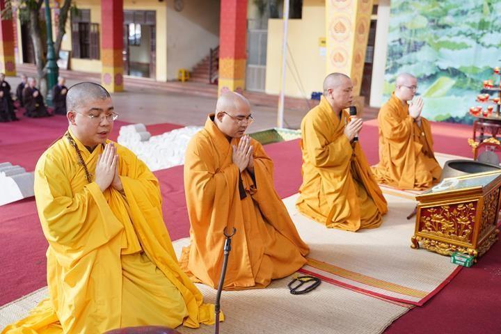 Hà Nội: Trang nghiêm khai mạc Đại giới đàn Phật lịch 2565 ảnh 13