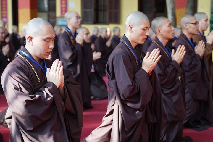 Hà Nội: Trang nghiêm khai mạc Đại giới đàn Phật lịch 2565 ảnh 15