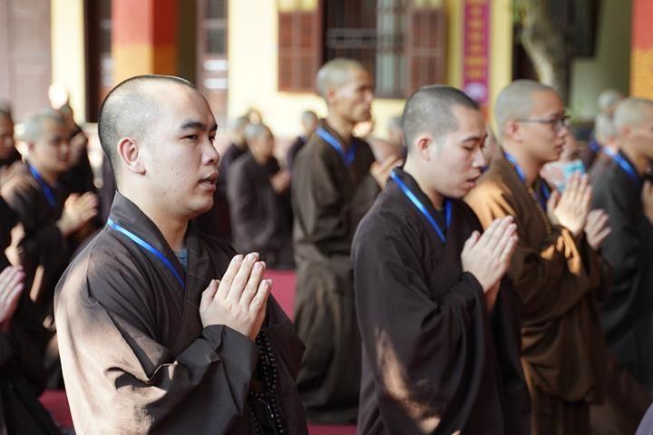 Hà Nội: Trang nghiêm khai mạc Đại giới đàn Phật lịch 2565 ảnh 18