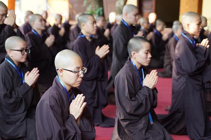 Hà Nội: Trang nghiêm khai mạc Đại giới đàn Phật lịch 2565 ảnh 20
