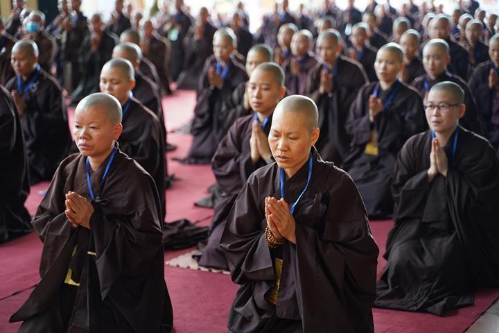 Hà Nội: Trang nghiêm khai mạc Đại giới đàn Phật lịch 2565 ảnh 22